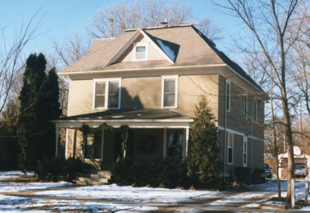 photo of American Four Square Style House