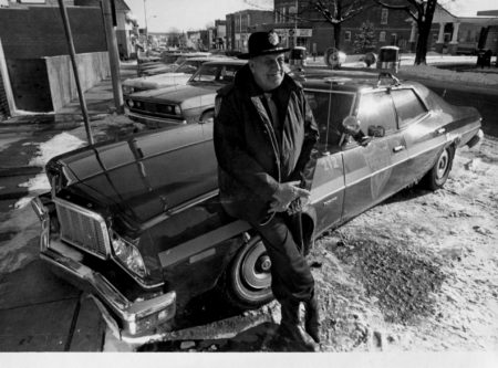 photo of Unidentified Policeman and His Car
