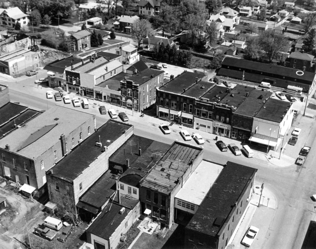 photo of Aerial Photograph of Downtown Mount Vernon