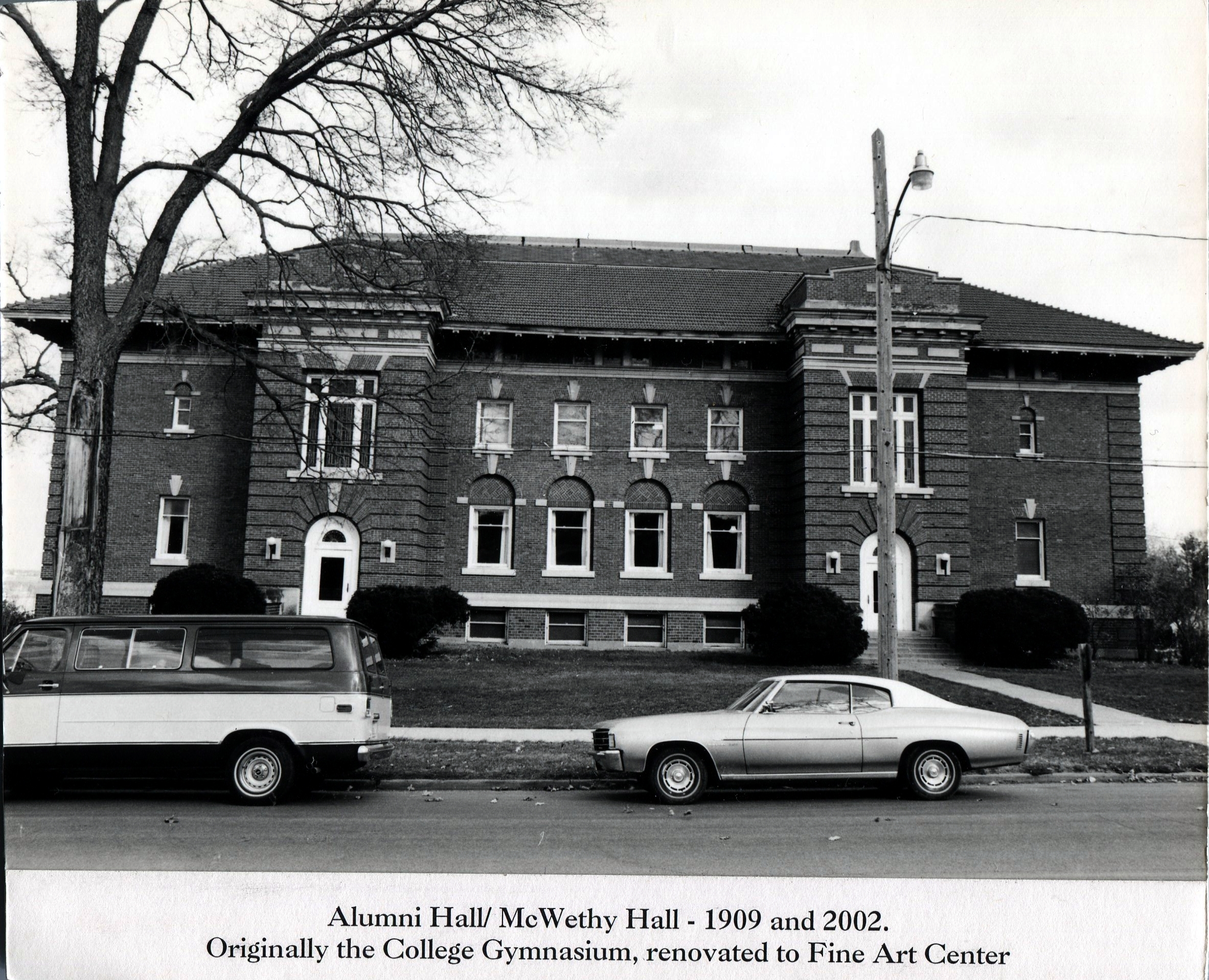 photo of Alumni Hall - McWethy Hall