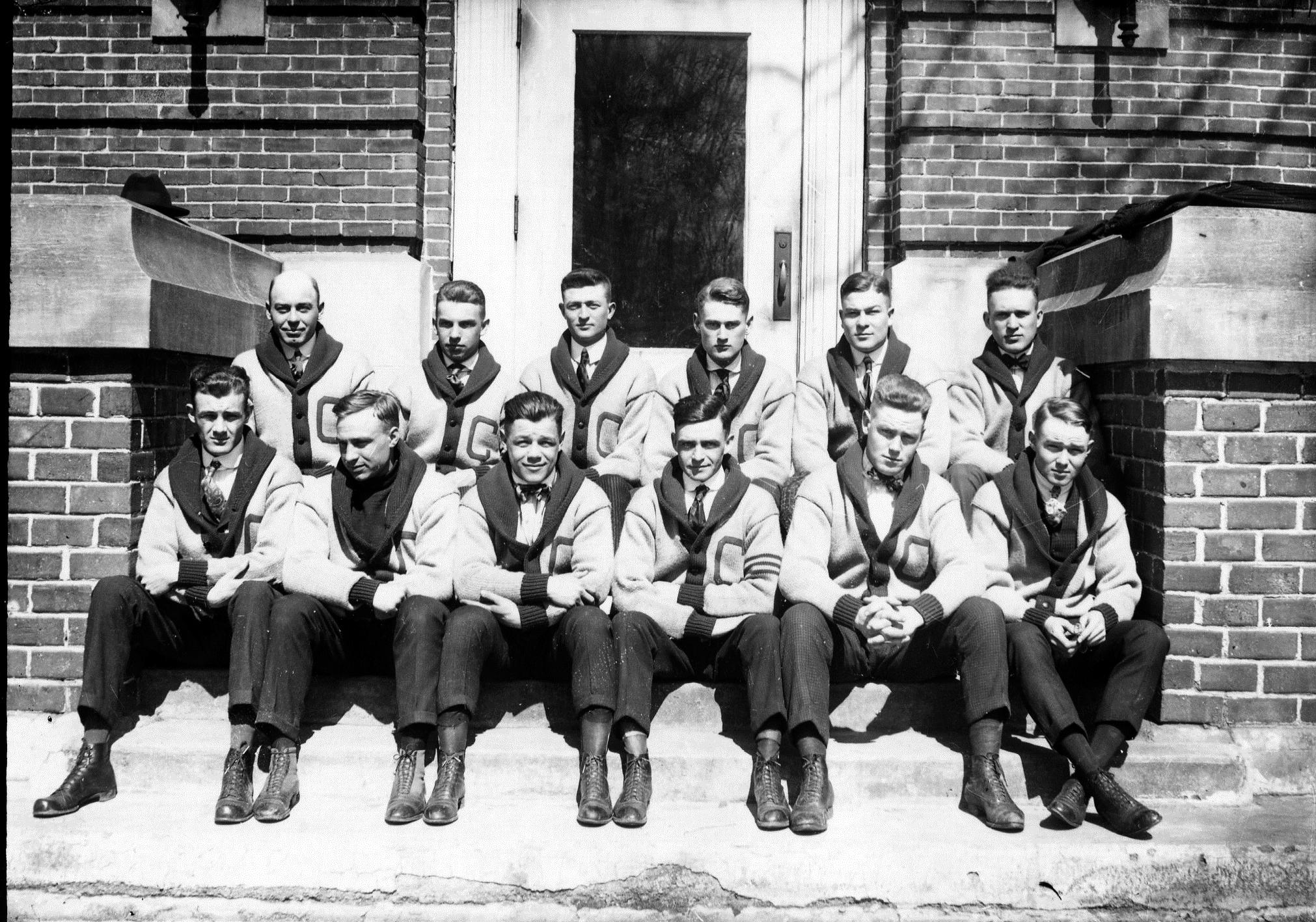 photo of C Club members-1915