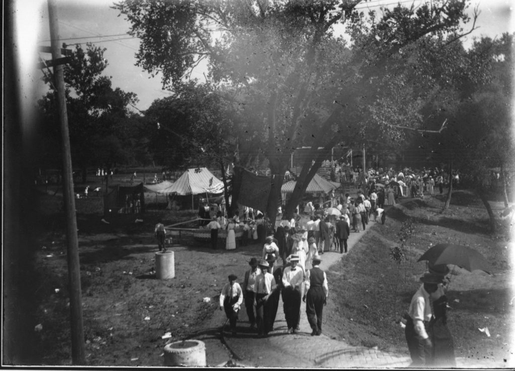 Community Event in Ash Park District circa 1910