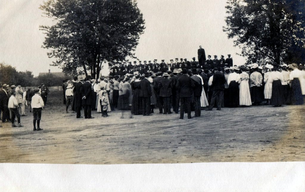 photo of Cornell Graduates Postcard