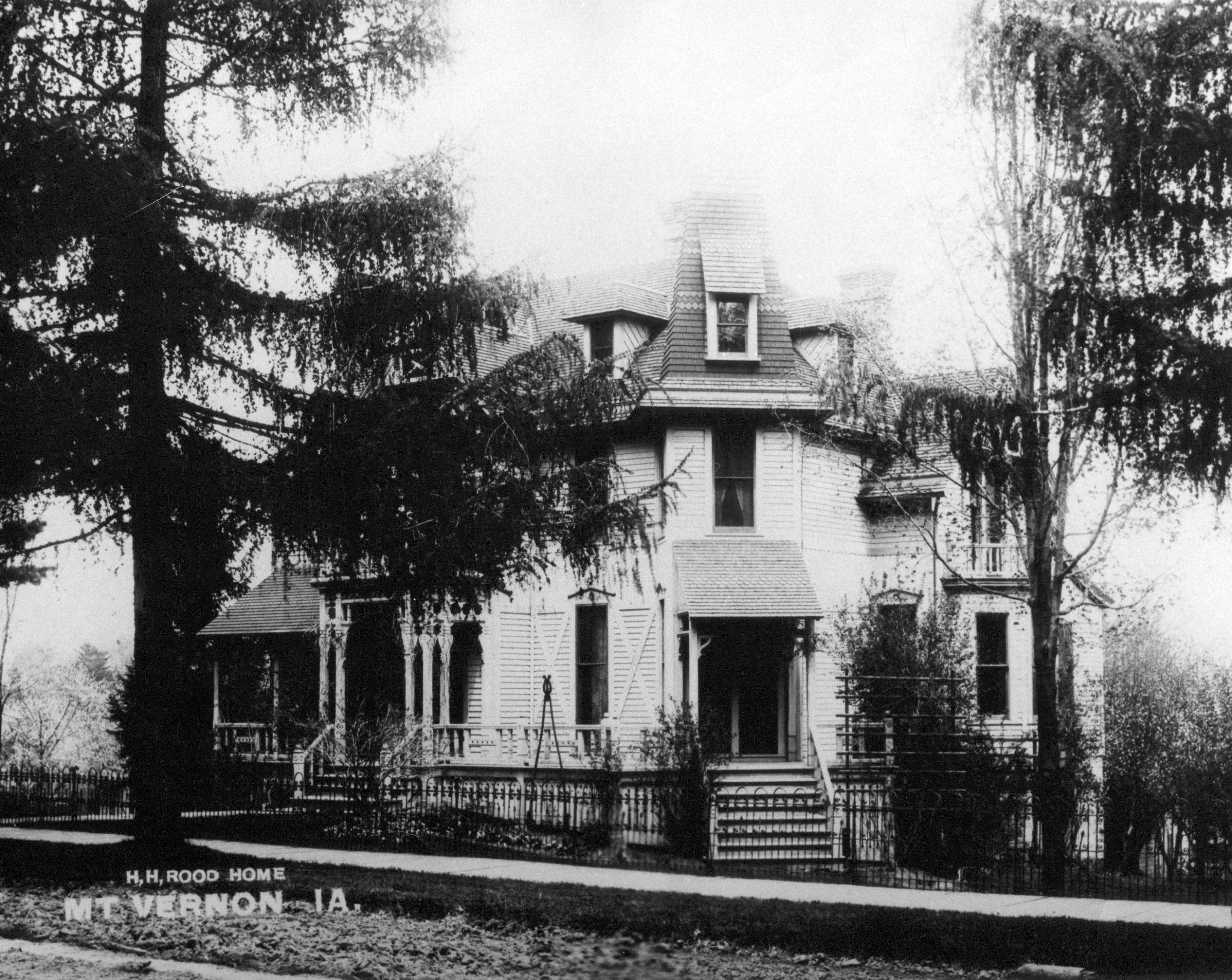 photo of H.H. Rood Home