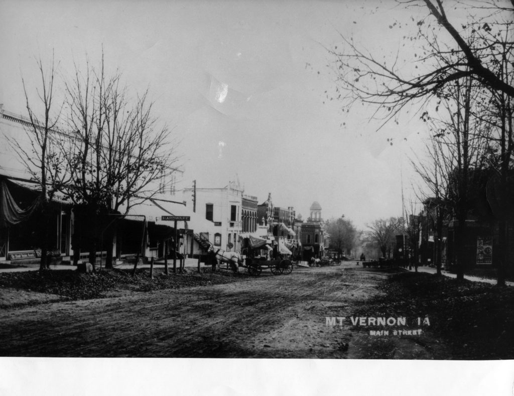 photo of Main Street @1910