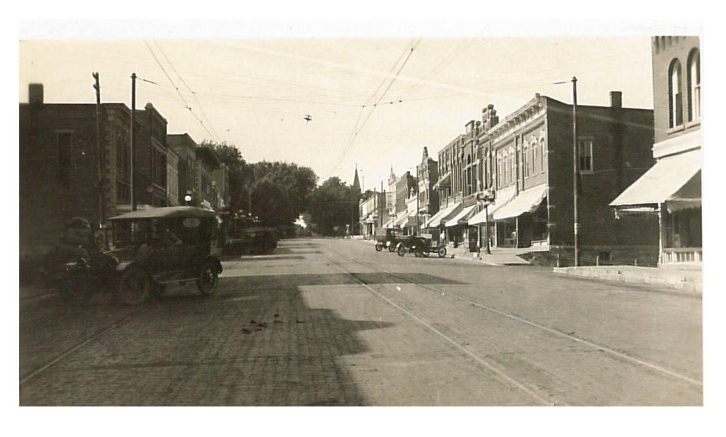 photo of Main Street @1917