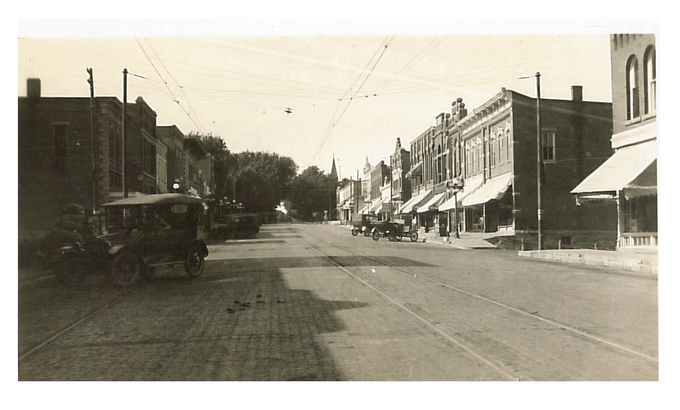 photo of Main Street @1917