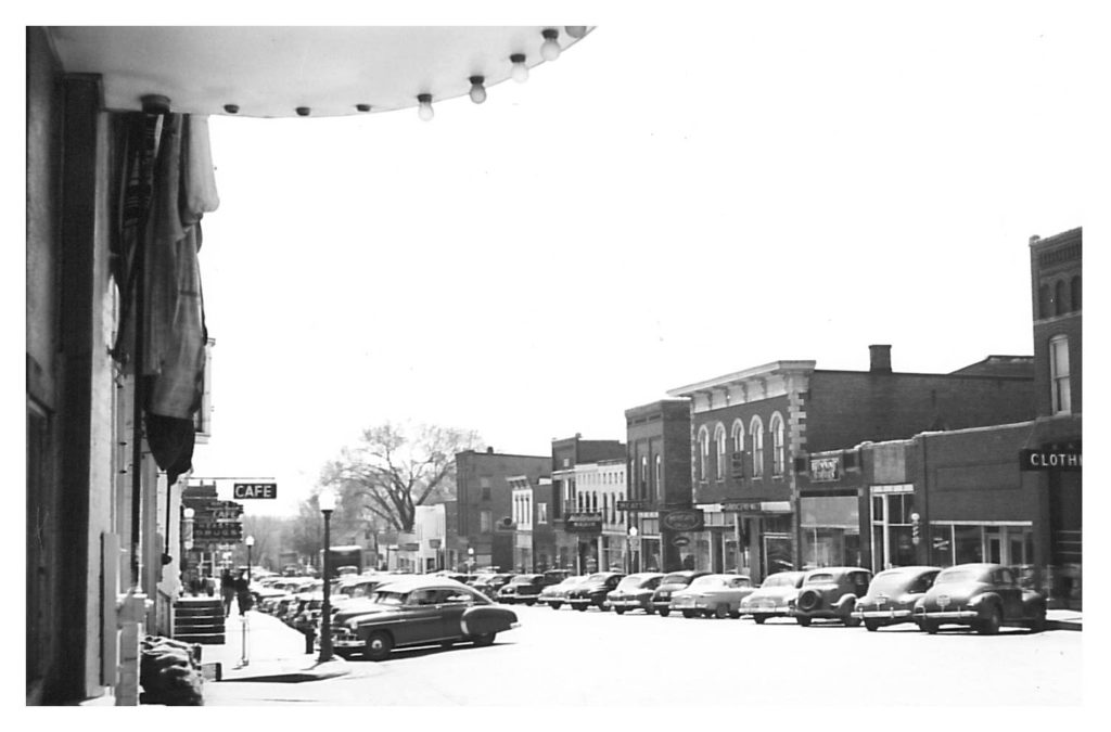 photo of Main Street @1950