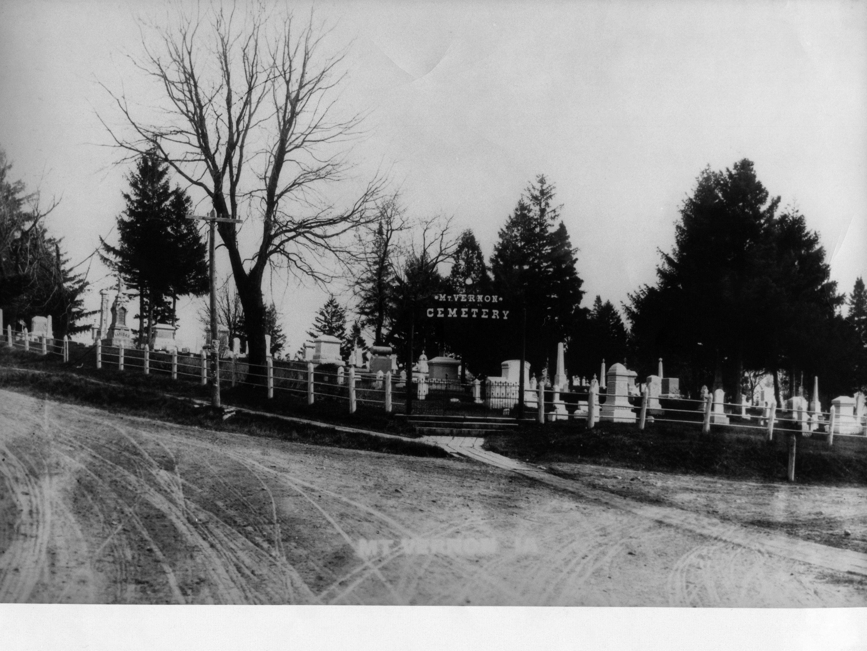 photo of Mount Vernon Cemetery