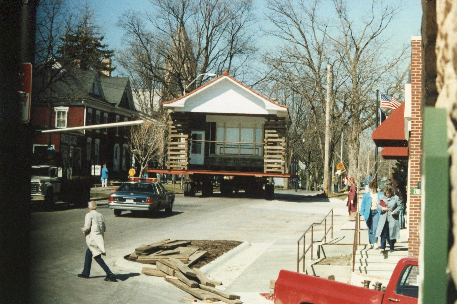 photo of Moving of Wolfe Office