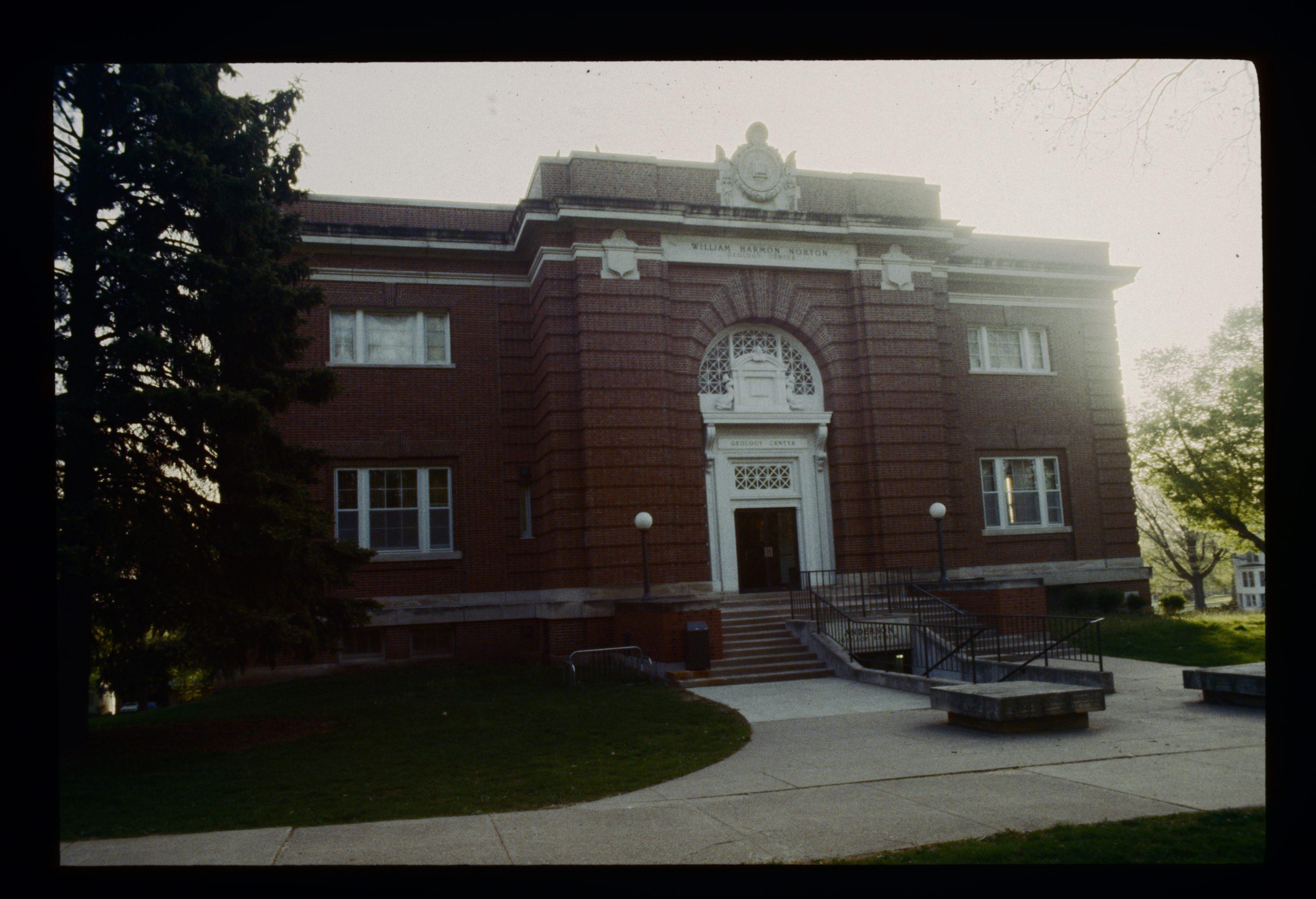 photo of Norton Geology Center