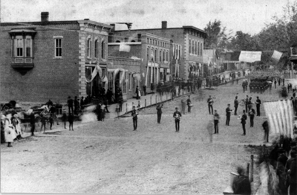 photo of Old Main Street @1895