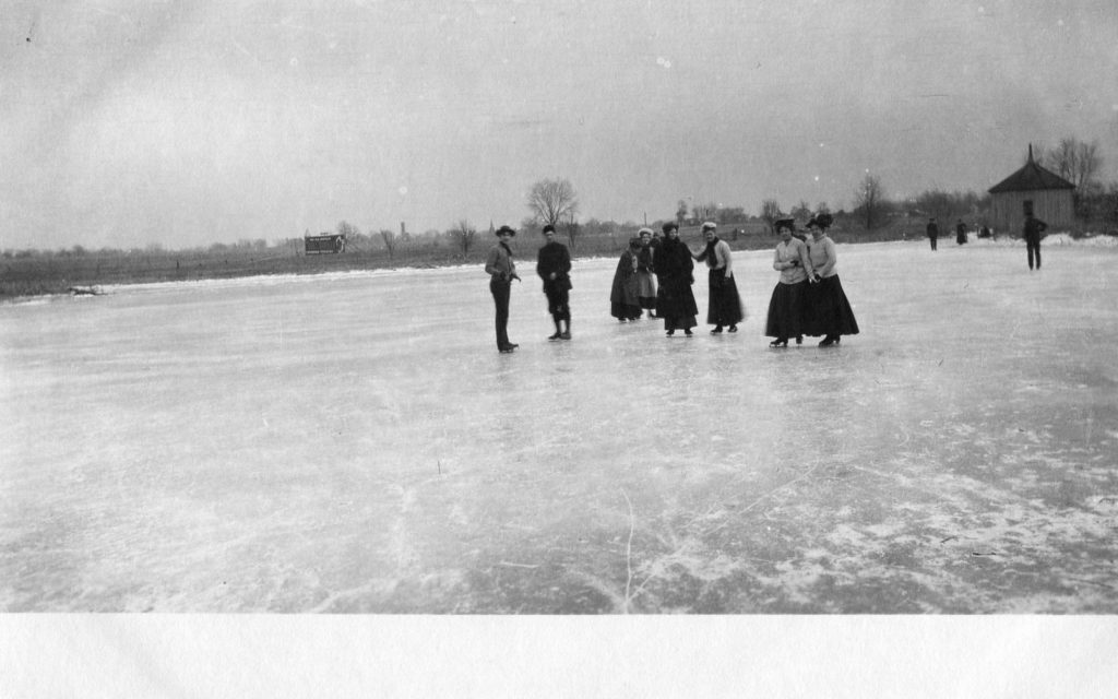 photo of Students Ice Skating