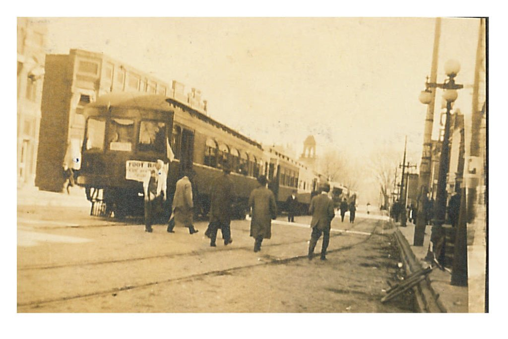 photo of Trolley on Main Street