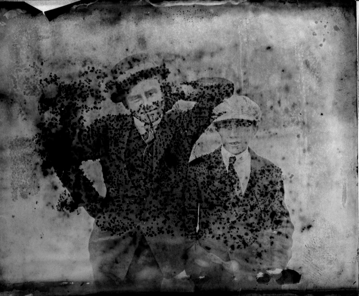photo of Unidentified Man and Boy