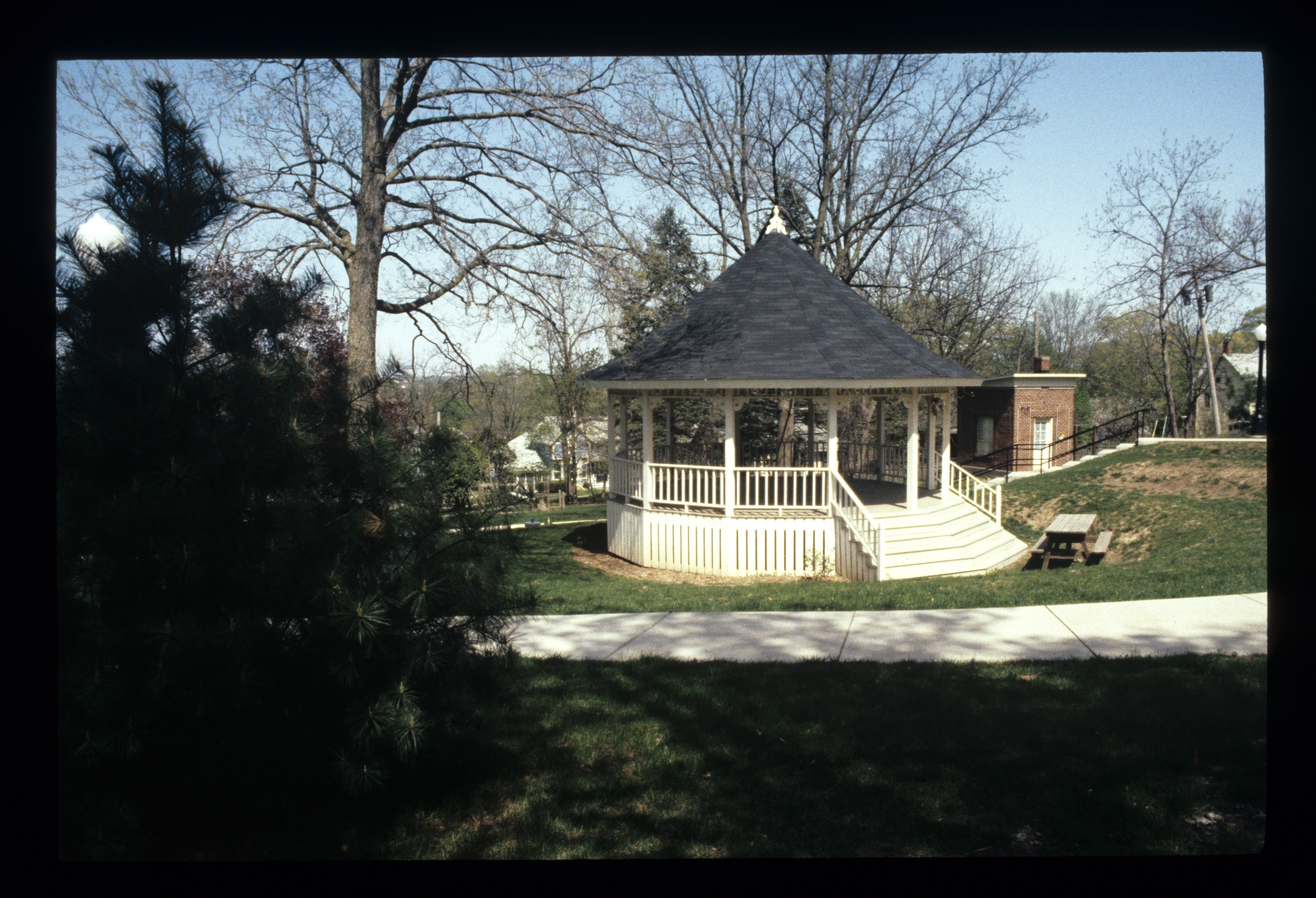 photo of White Gazebo