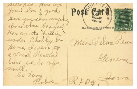 photo of Back of a Postcard