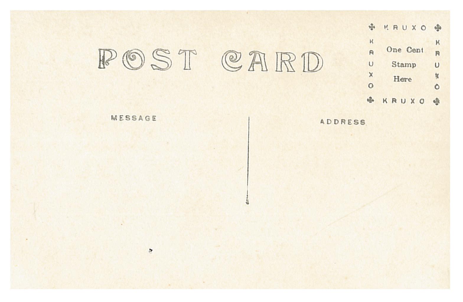 photo of Blank Postcard