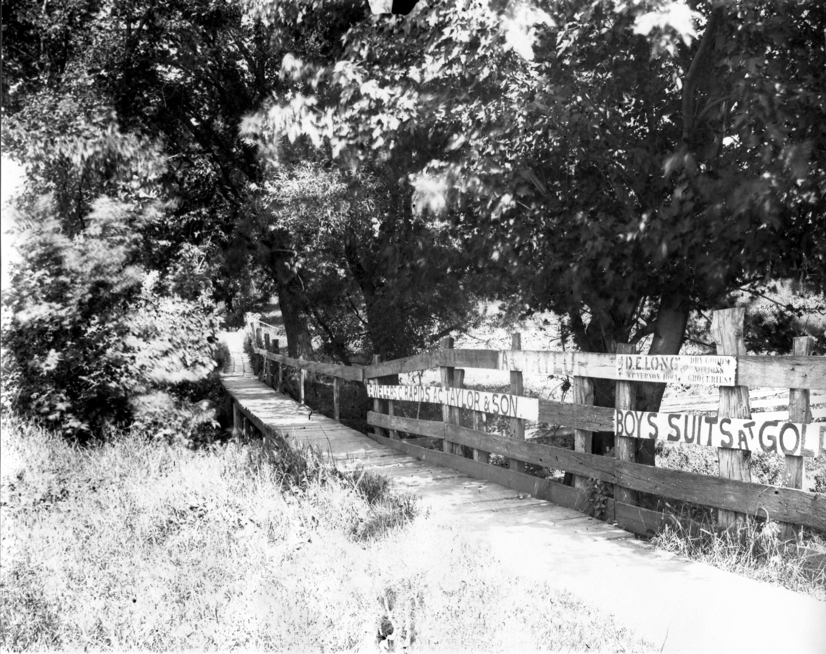 photo of Boardwalk with Advertisements