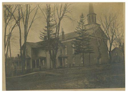 photo of Brick Church and Parsonage