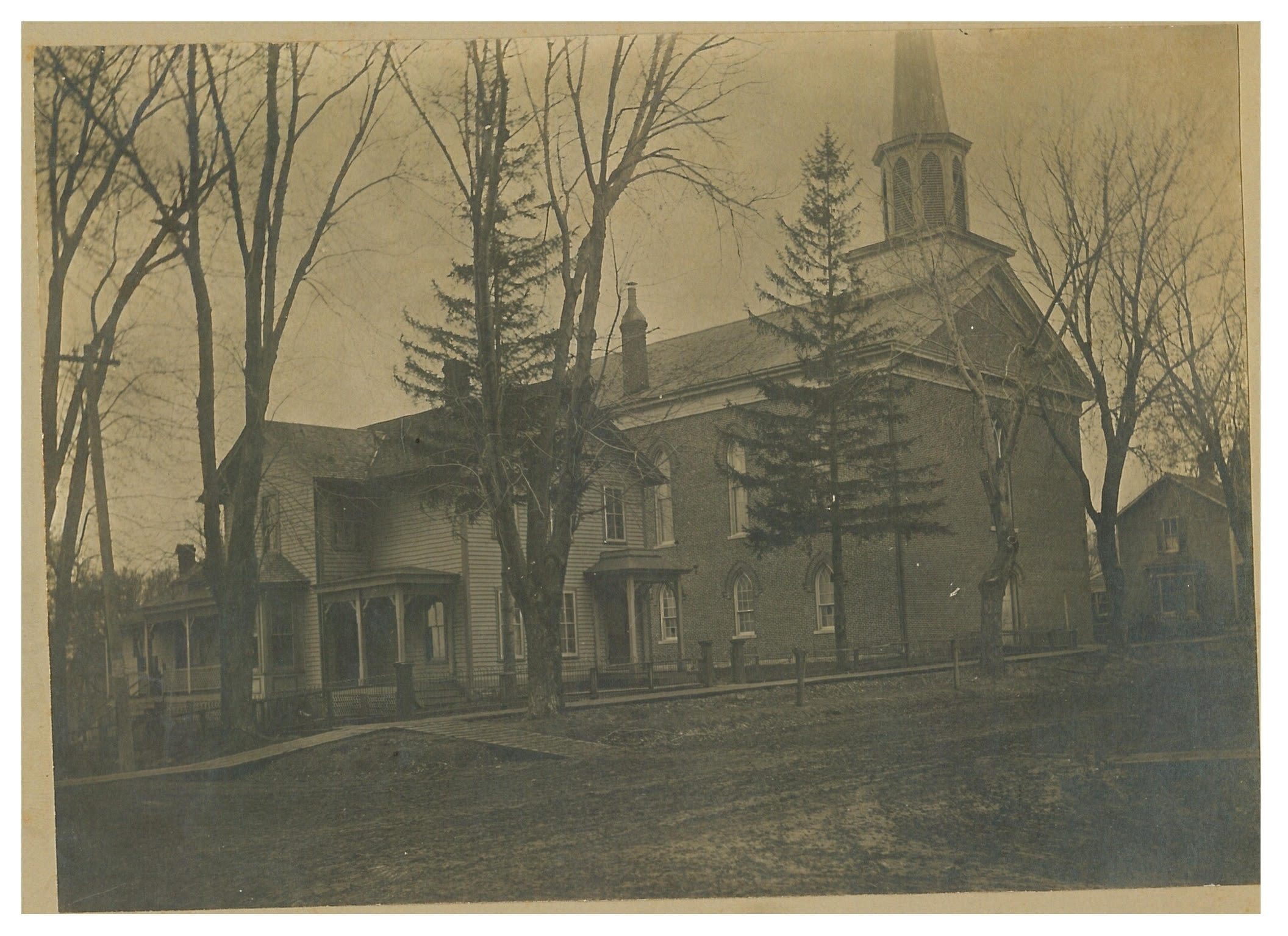 photo of Brick Church and Parsonage