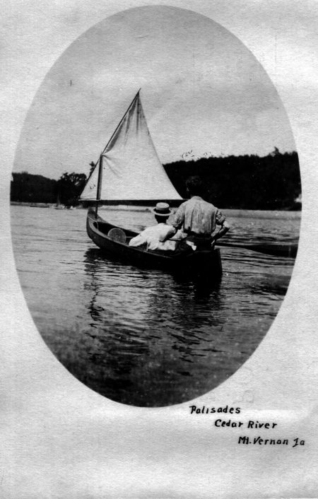 photo of Cedar River Postcard
