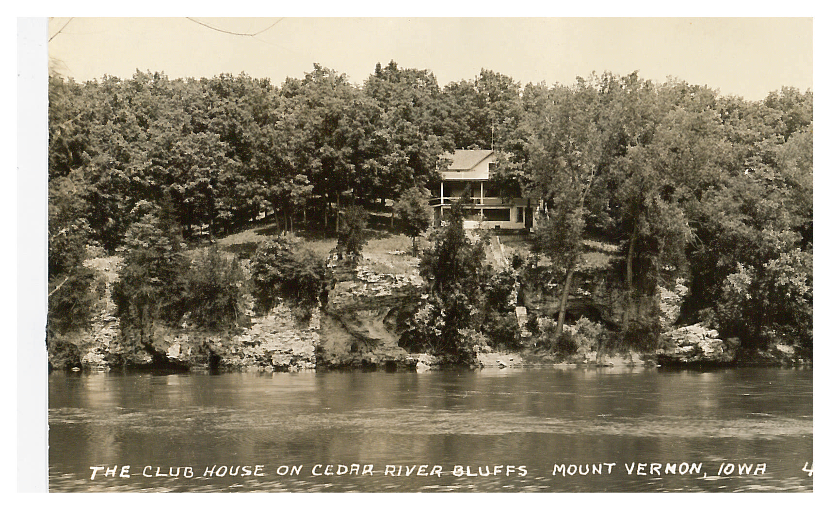 photo of Club House on Cedar River Bluffs