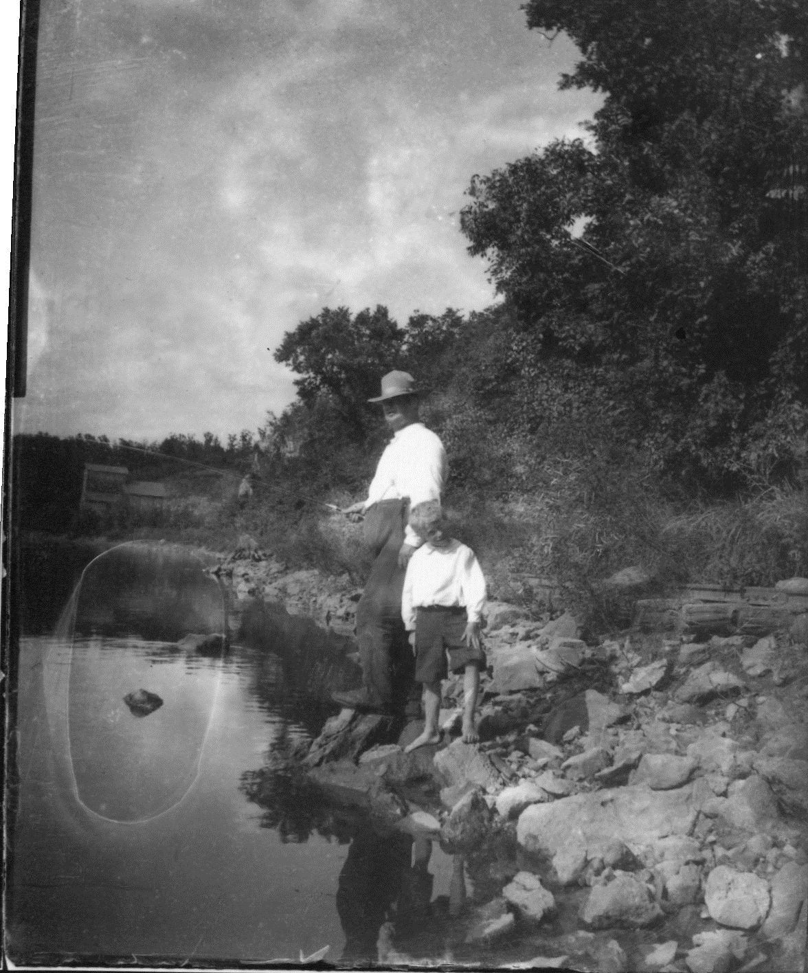 photo of Family Fishing