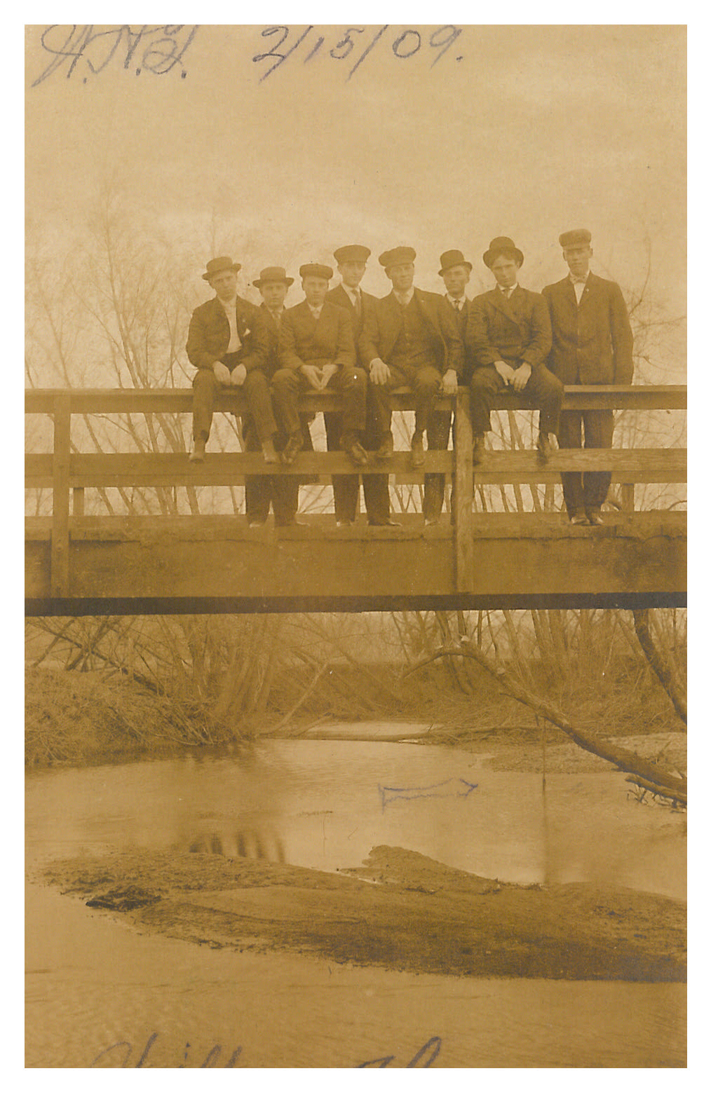 photo of Group of Unidentified Men