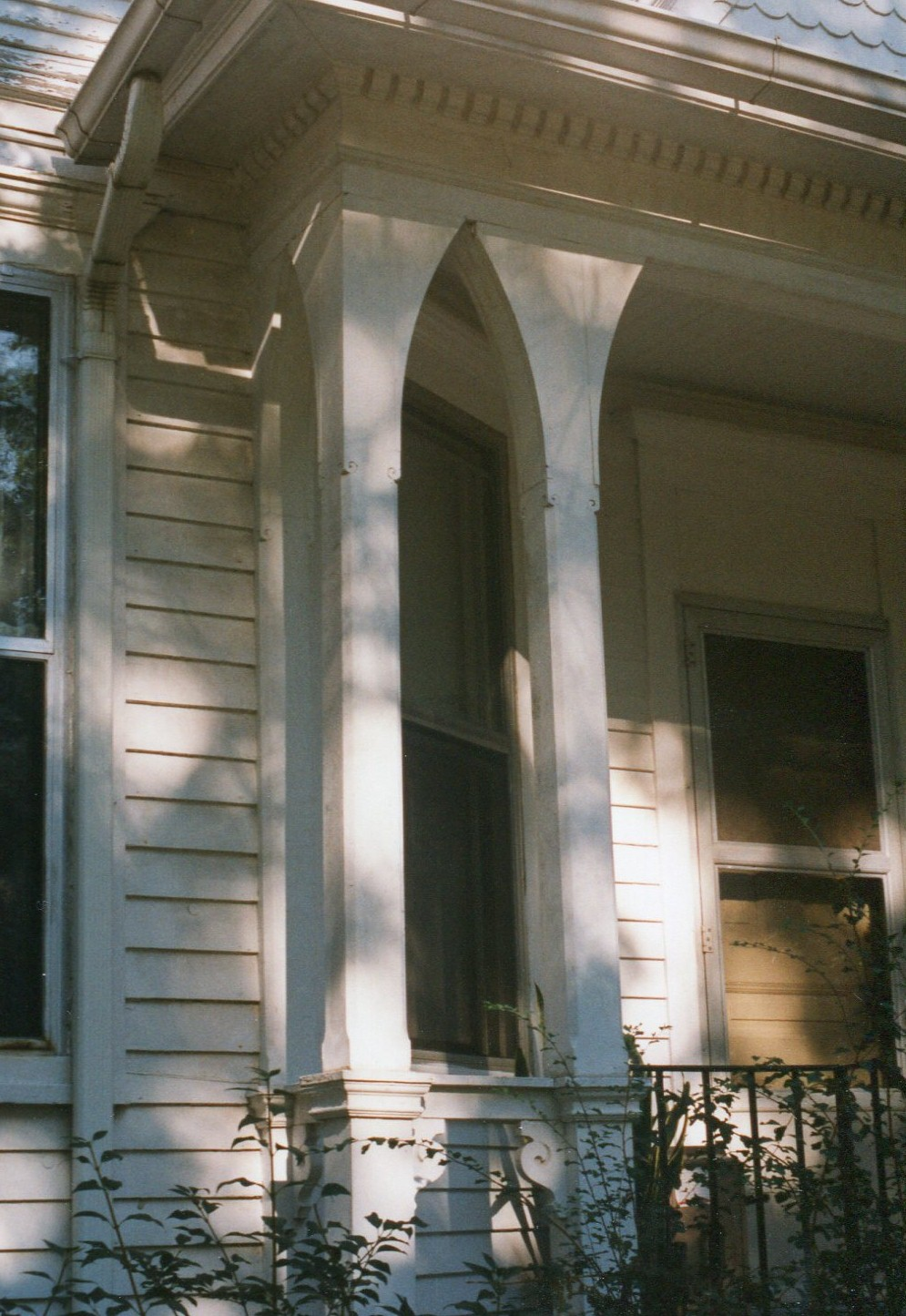 photo of House Details-porch posts