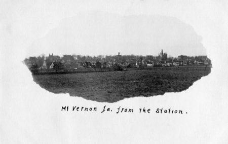 photo of Mount Vernon Postcard