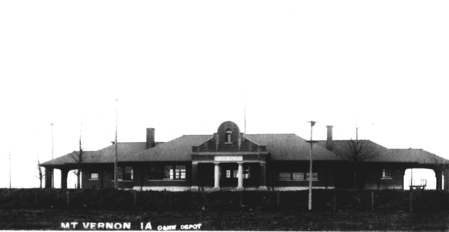 photo of Railroad Depot-1910
