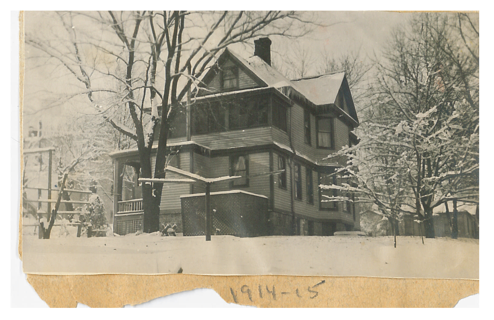 photo of Unidentified House-1914
