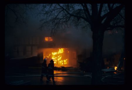 photo of Unidentified House on Fire