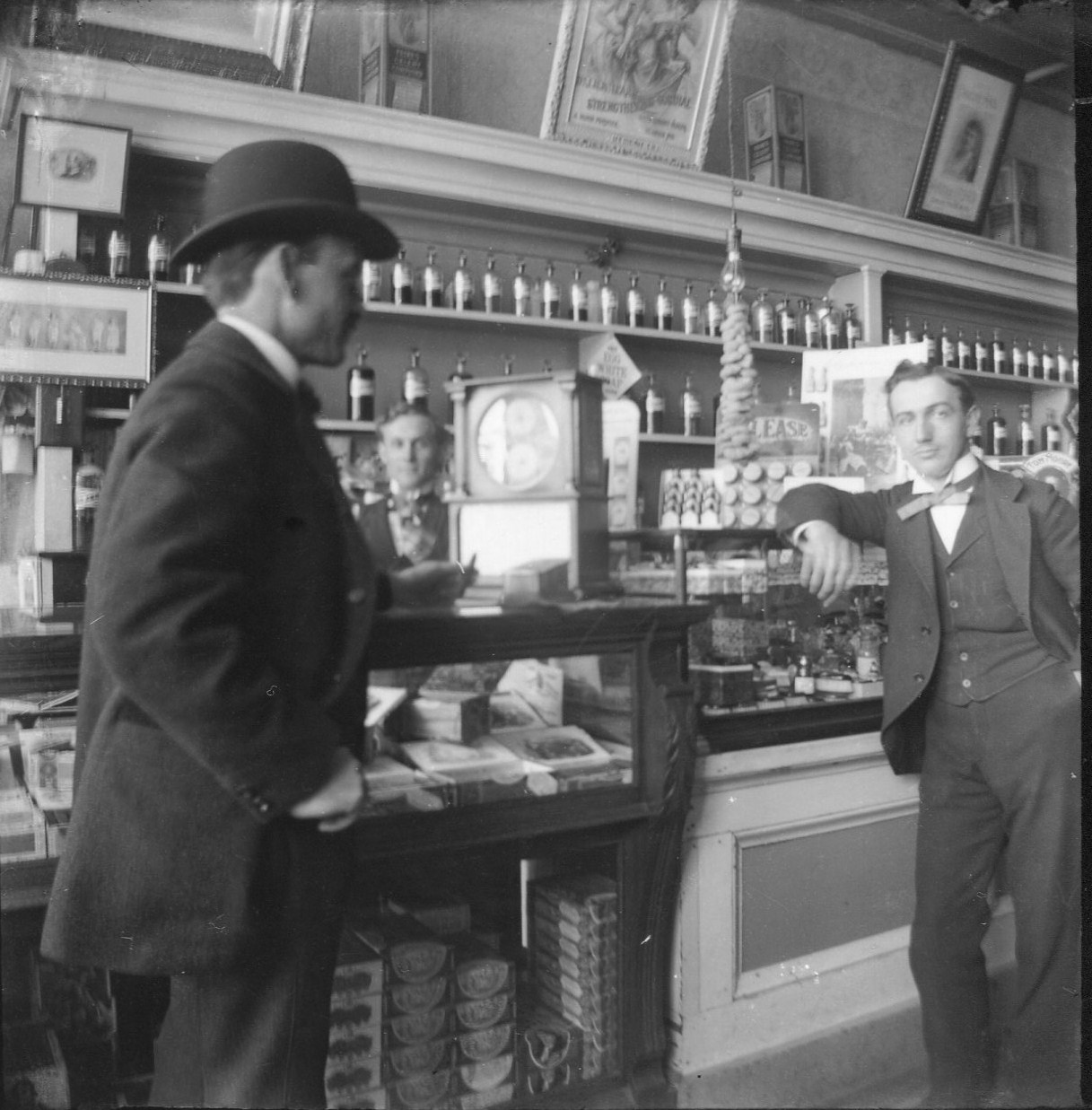 photo of Unidentified Men in Store