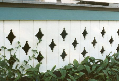 photo of porch skirting