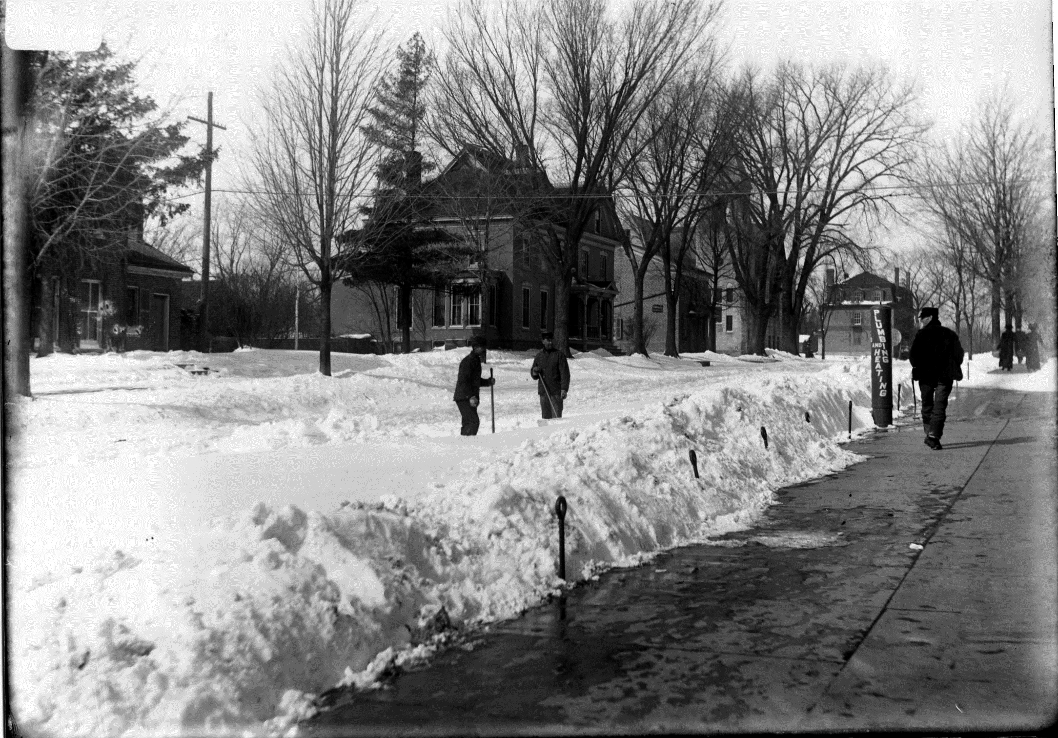 Photo of First Street West Street with snow