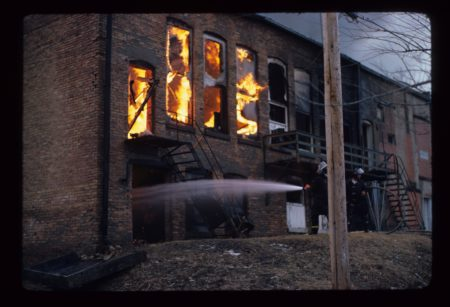photo of Wolfe Office Fire