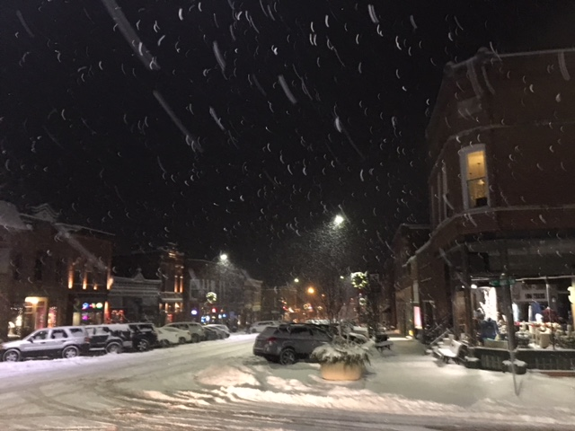 Photo of First Street West taken December 29, 2017