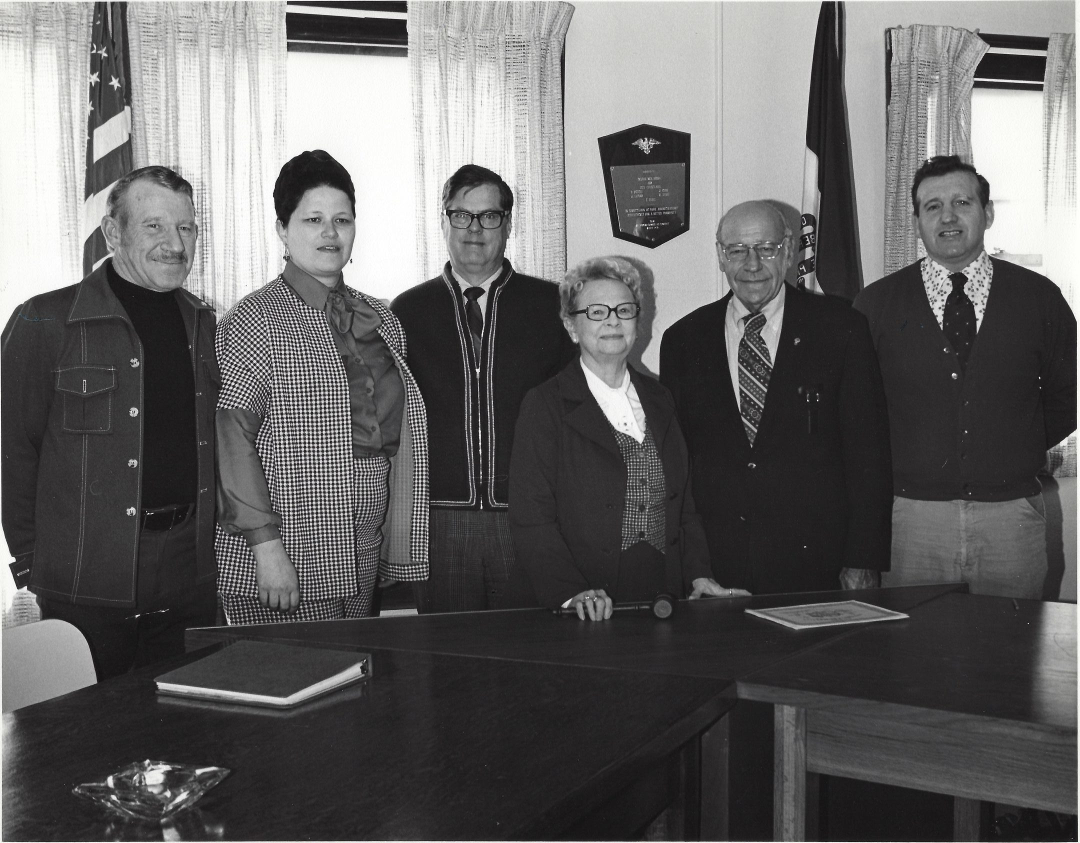 Photo of the City Council 1976-77