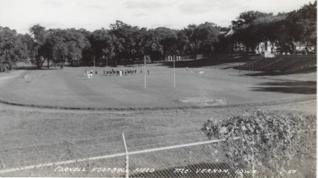 Photo of Cornell Football Field Postcard
