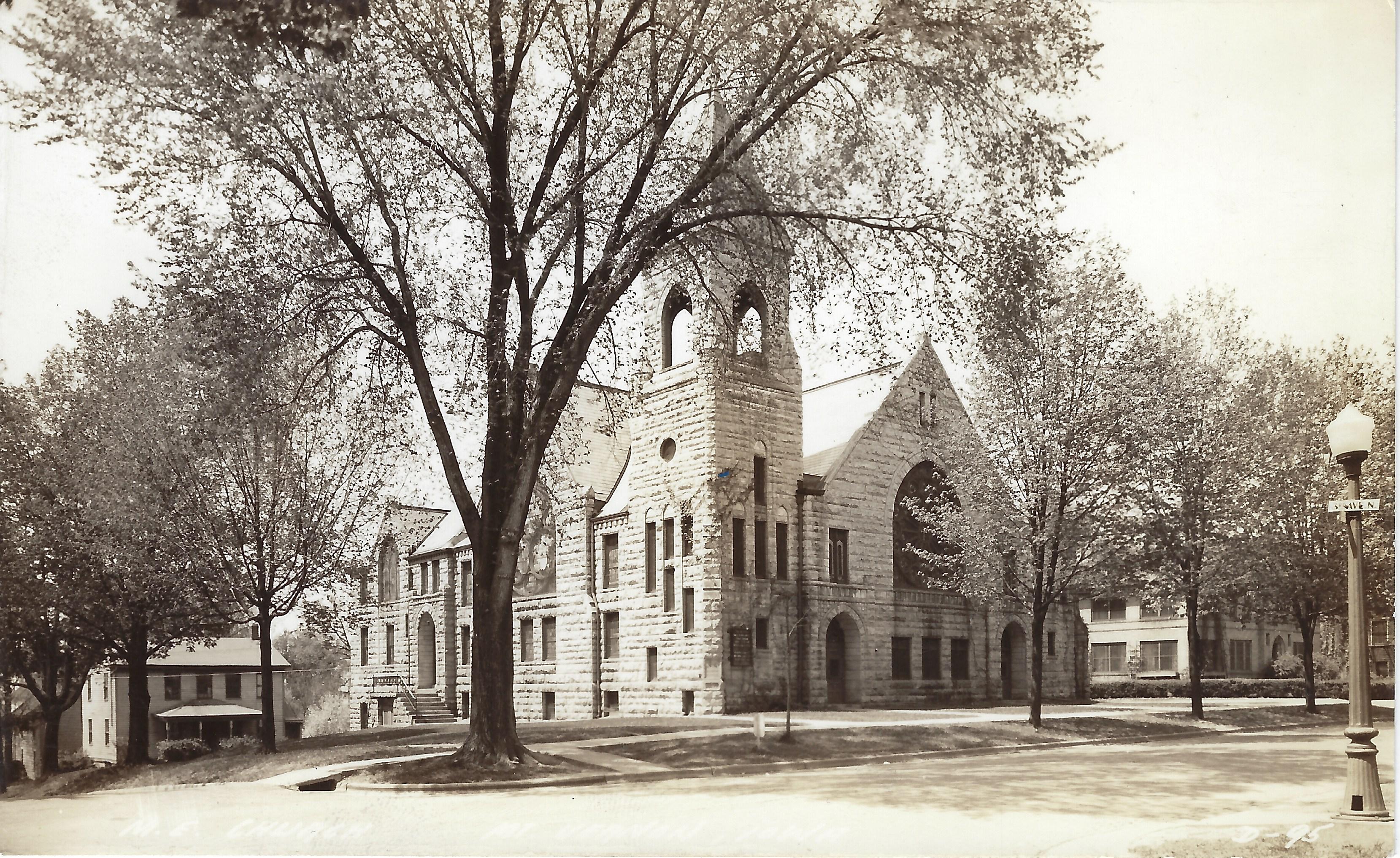 Photo of Methodist Church postcard
