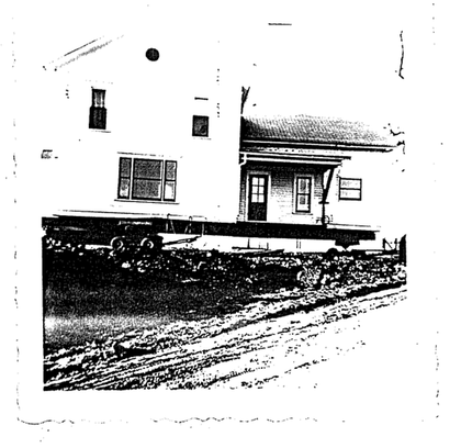 Photo of house being transferred