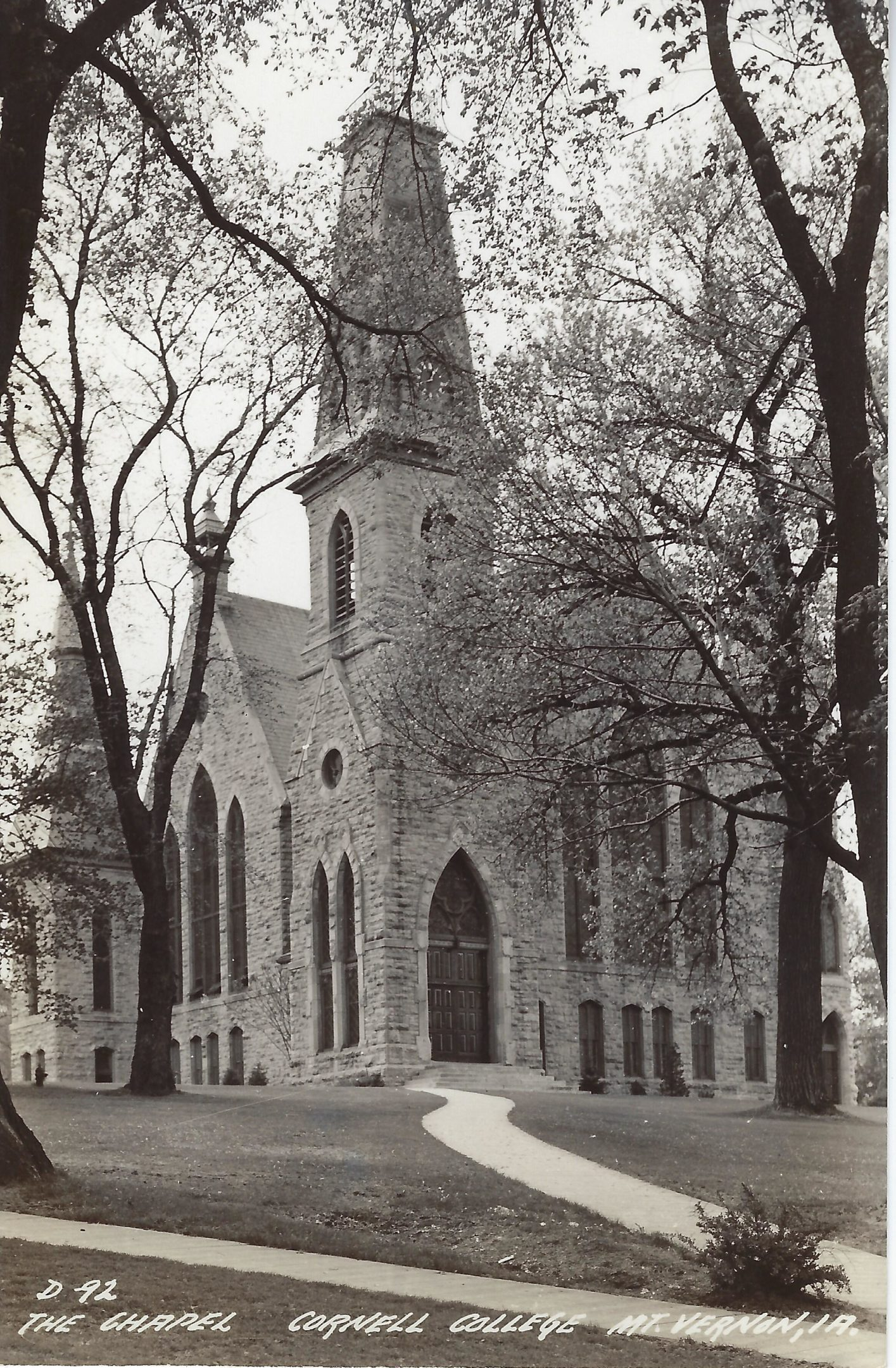 Photo of The Chapel postcard