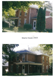 Photo of the Shantz House in 2003