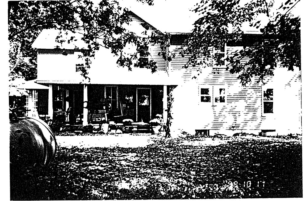 Strother house in 1997