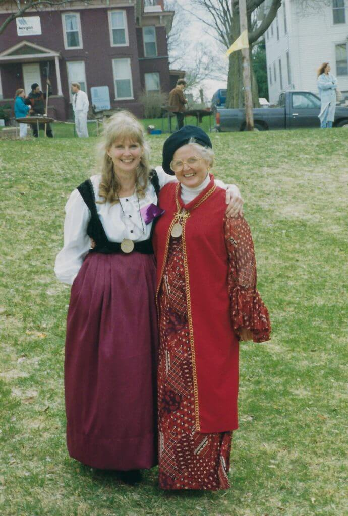 Photo of Ann Booth and Carol Soukup