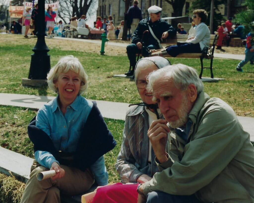 Photo of Hill and Stromer in Memorial Park
