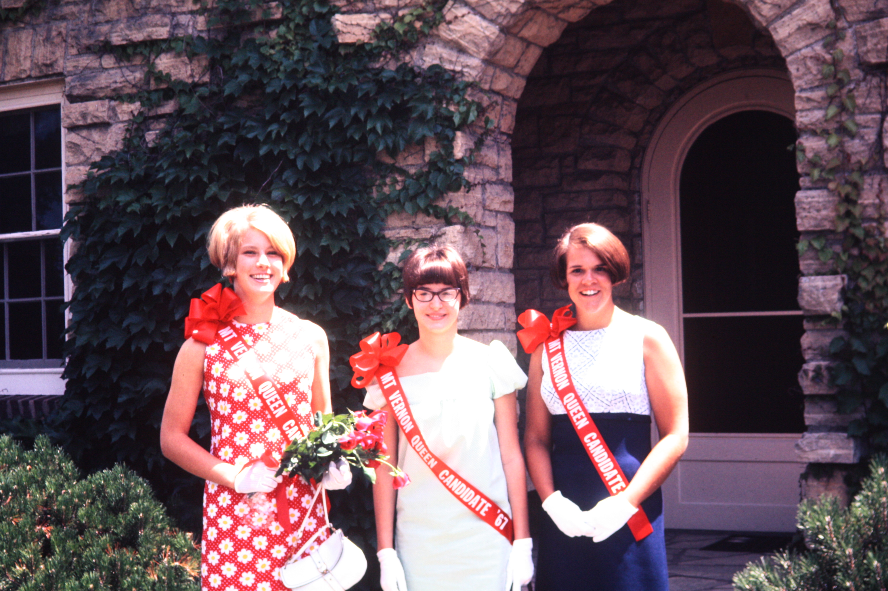 Photo of Fun Days Queen Candidates 1967