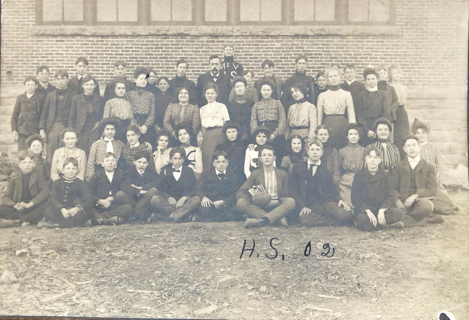 Photo of Mount Vernon High Class of 1902
